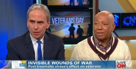 Bob Roth and Russell Simmons on CNN. Source: theuncarvedblog.com