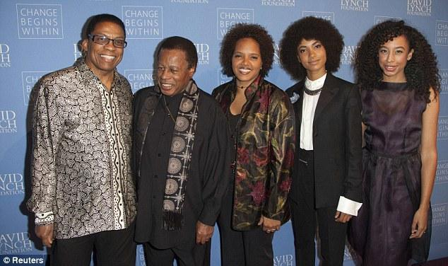 Herbie Hancock, Wayne Shorter, Terri Lyne Carrington, Esperanza Spalding and Corinne Bailey Rae. Thanks to Daily Mail. See link in text area.