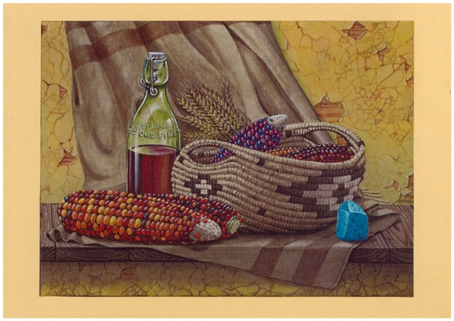 Basket of Corn, by Richard Barnes, Australia