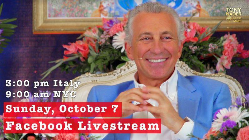 Interactive Facebook Livestream event led by Maharaja—Tony